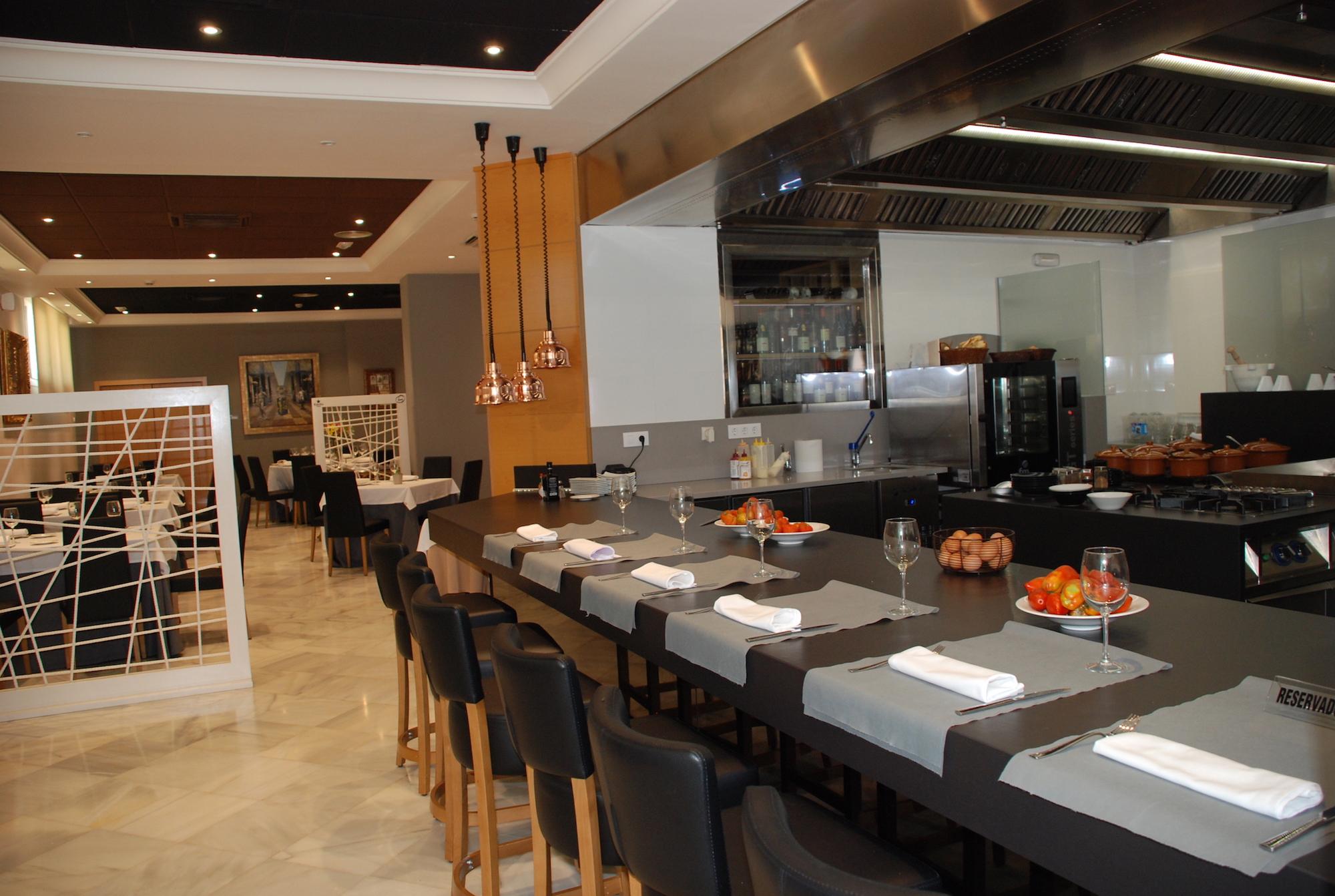 barra cocina y restaurante