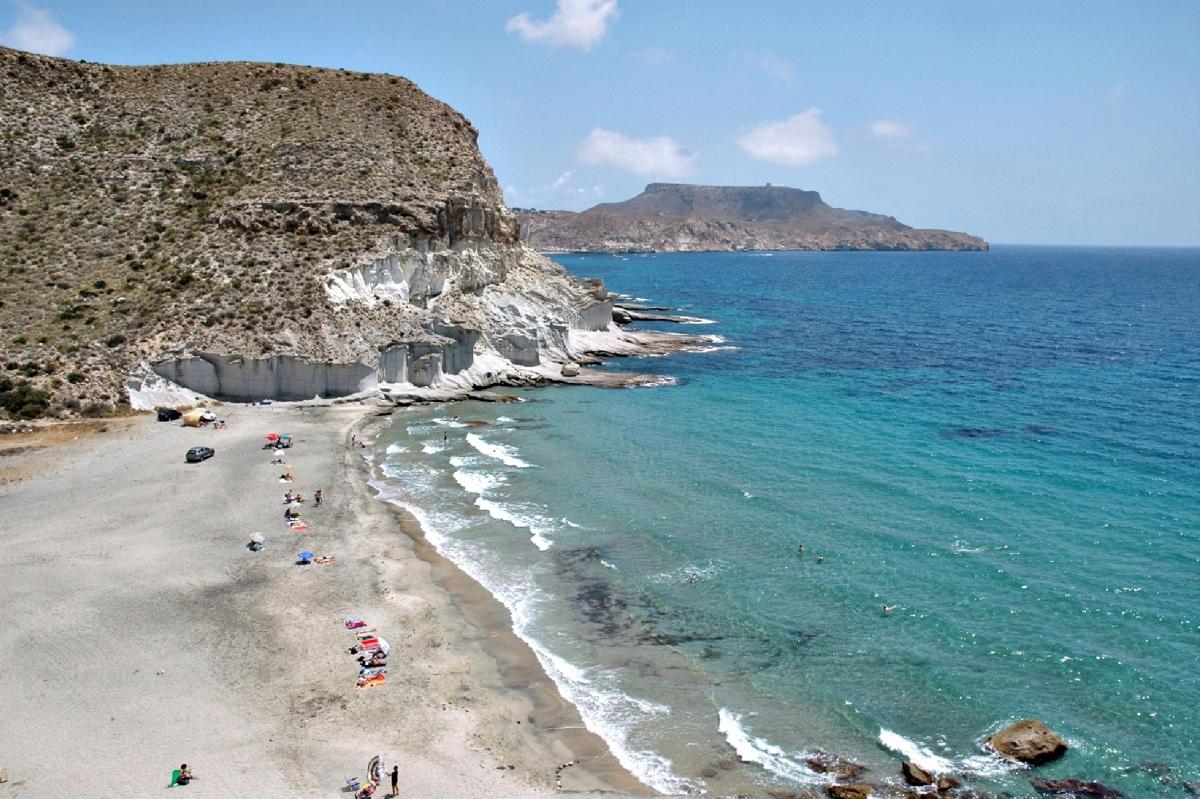Las diez mejores playas de almer a for Costa sol almeria